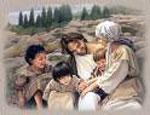 Acércate a Jesús con la confianza de niño