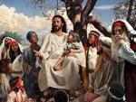 Cristo nos invita... desde la montaña.
