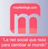 Mayfeelings.com La red social que reza para cambiar el mundo