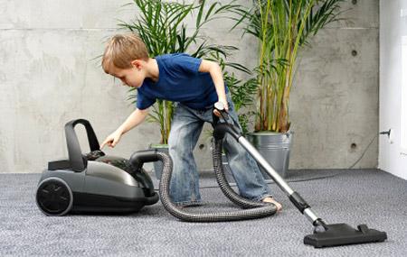 Cuánto debe ayudar un hijo en casa