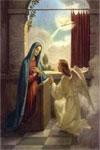 Cuando el ángel vino a María...