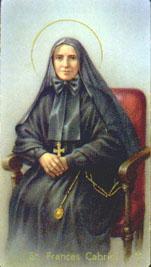 Francisca Javier Cabrini, Santa