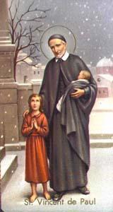 Vicente de Paul, Santo