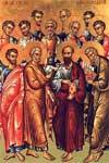 Elección de los doce apóstoles