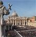Oraci�n, redes sociales y TV unidas en la plaza de San Pedro del Vaticano