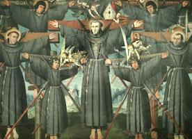 Francisco de Santa María y catorce compañeros, Beatos