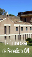 La futura casa de Benedicto XVI