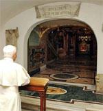 Pedro es la piedra donde se edifica la Iglesia